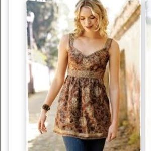 """NWT Peruvian Connection Top """"Clematis"""""""